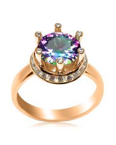Эксклюзивное кольцо с мистическим топазом «Секрет королевы»