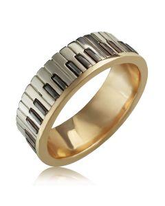 Золотое кольцо для музыканта «Звуки музыки»