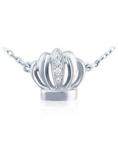 Золотое колье на цепочке «Корона»