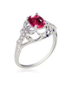 Элитное кольцо с рубином 1,9 Ct «El Secreto»