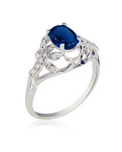 Элитное кольцо с сапфиром 1,9 Ct «El Secreto»