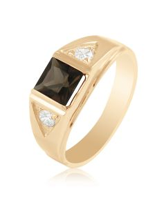 """Золотое кольцо """"CAESAR"""""""