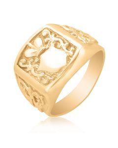 """Золотой перстень """"Родовой герб"""""""