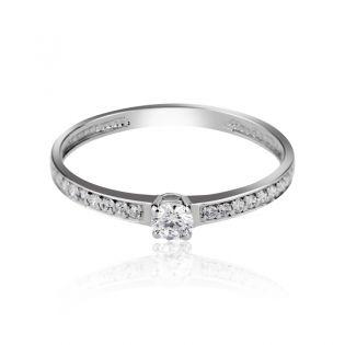 Маленький золотой женский перстень «Влада»