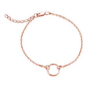 Золотой женский браслет «Stella»