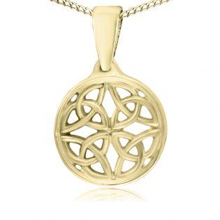 Кулон золотой без вставок «Кельтский»