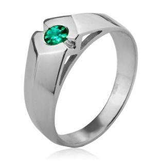 Мужской перстень «Магический изумруд»