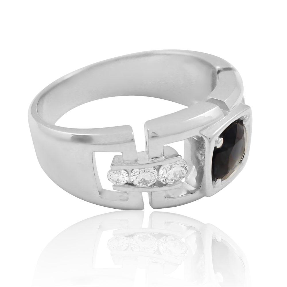 Мужской перстень с сапфиром купить