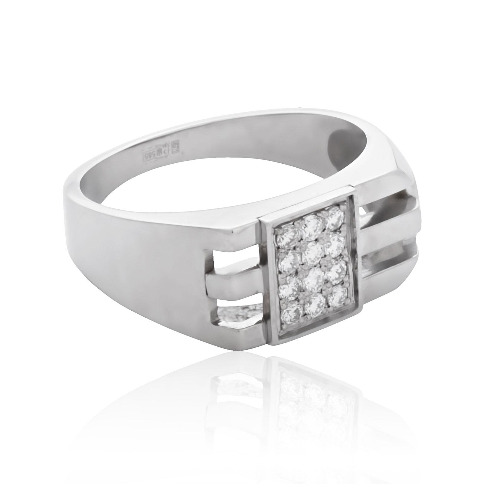 Мужские перстни с бриллиантом купить