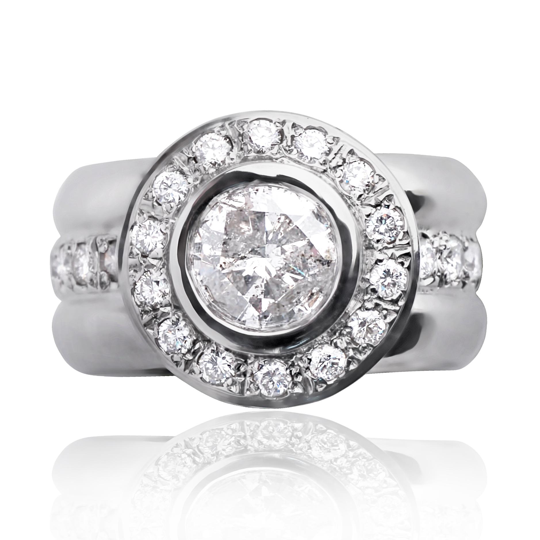 Мужские перстни с бриллиантами