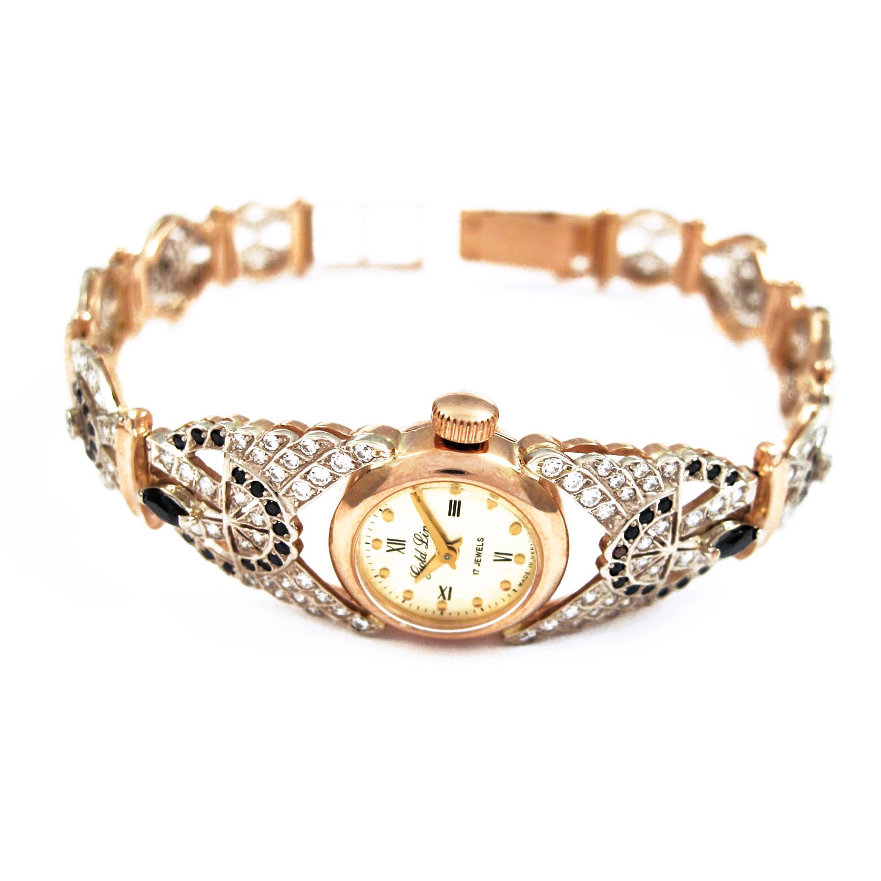 Золотий годинник «Грета Гарбо»