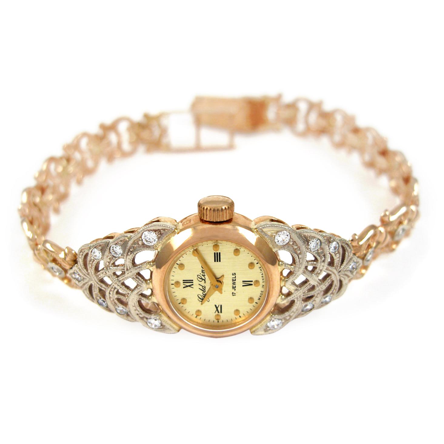 Золотий годинник «Павутинка»