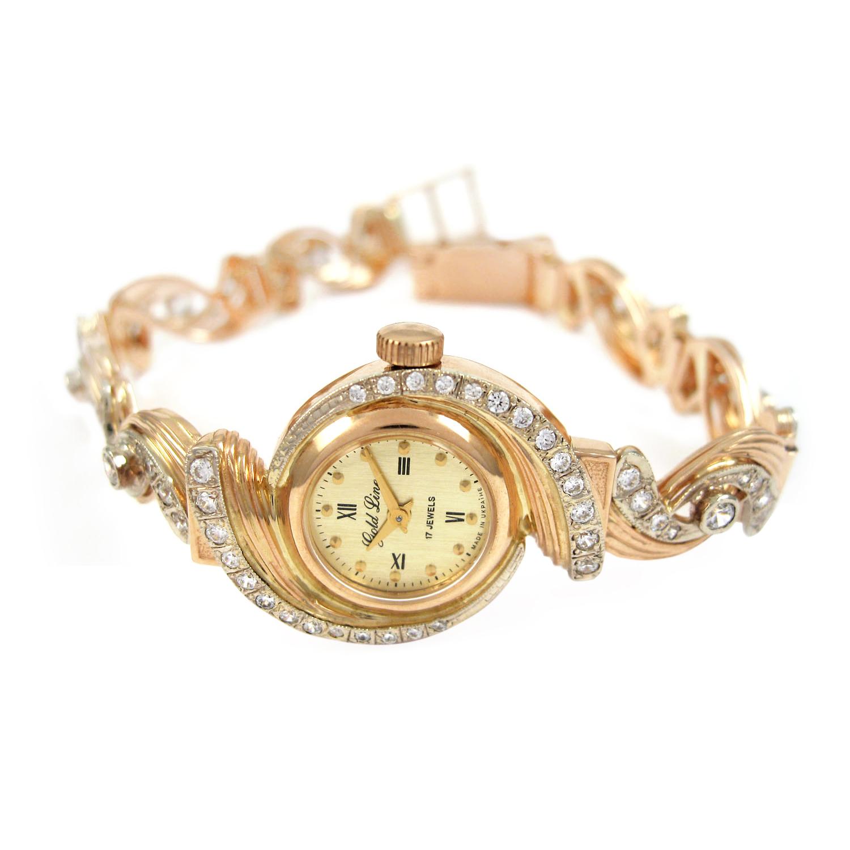 Золотий жіночий годинник «Джульєтта»