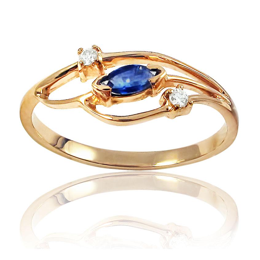 Золотое кольцо «Лизетта»