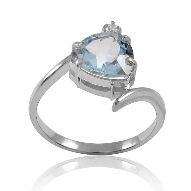 Золотое кольцо с топазом «Dream»