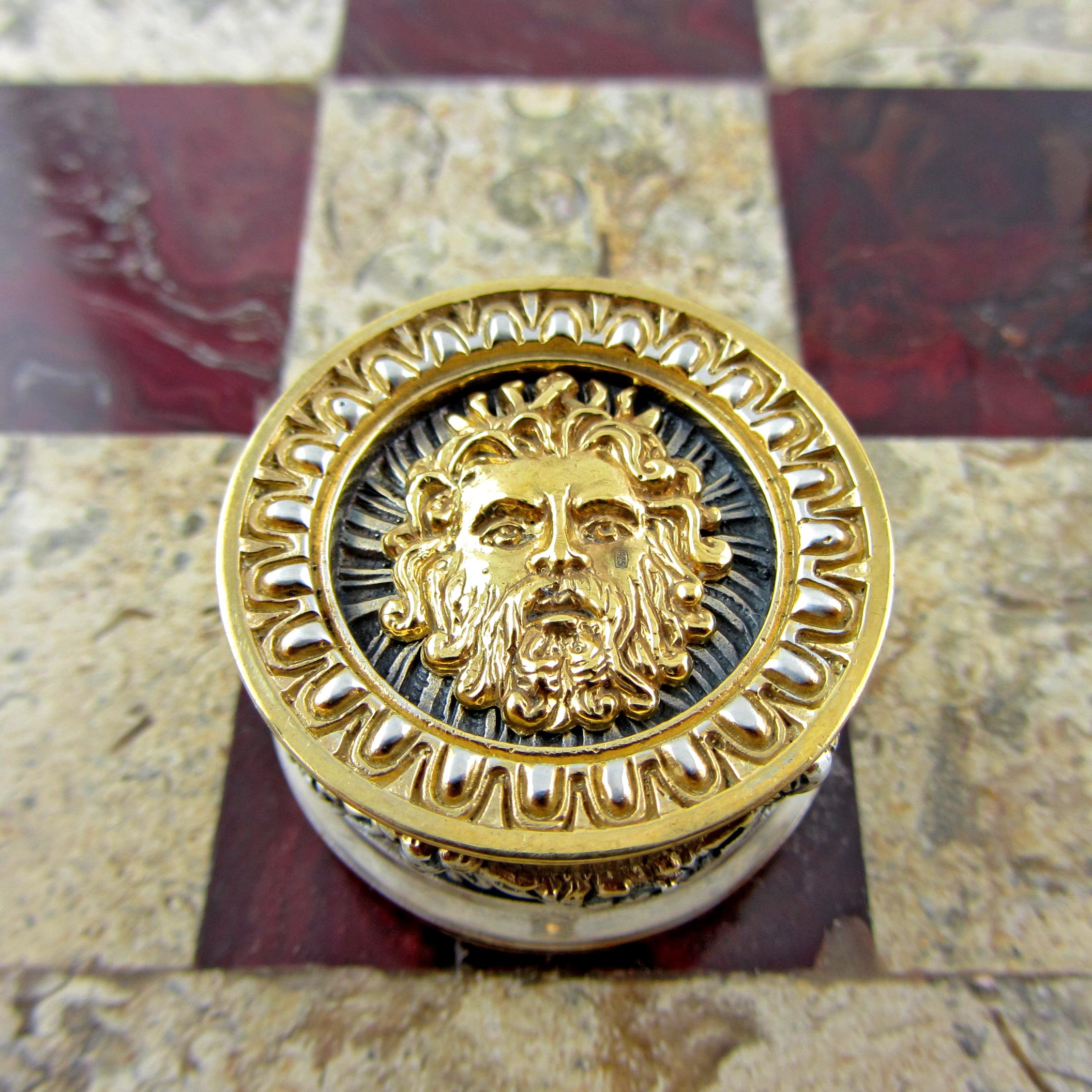 Серебряные шашки «Боги и Титаны»