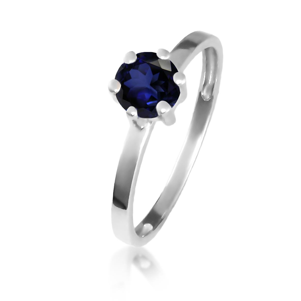Золотое кольцо с сапфиром «Мальди»
