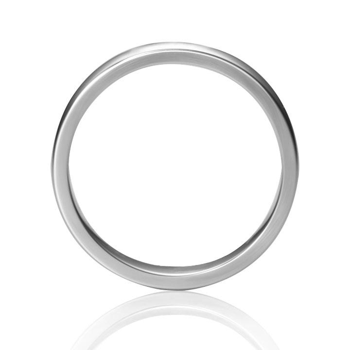Обручальное кольцо с бриллиантовой дорожкой «Road to love»