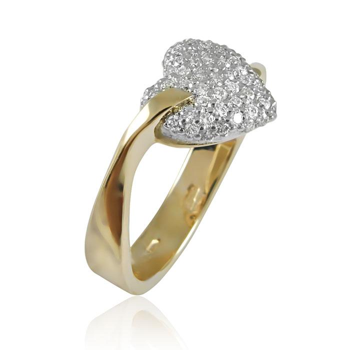 Золоте кільце «Дорогоцінна любов»