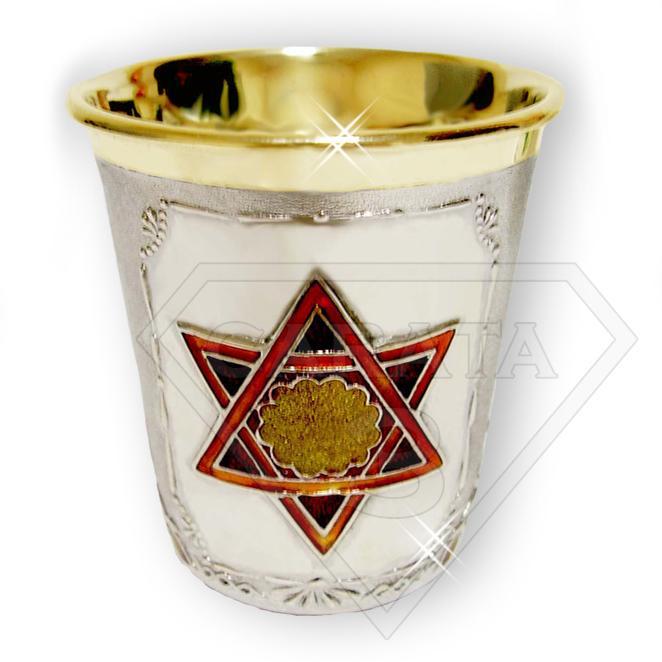 Срібна чарка «Єврей-скрипаль»