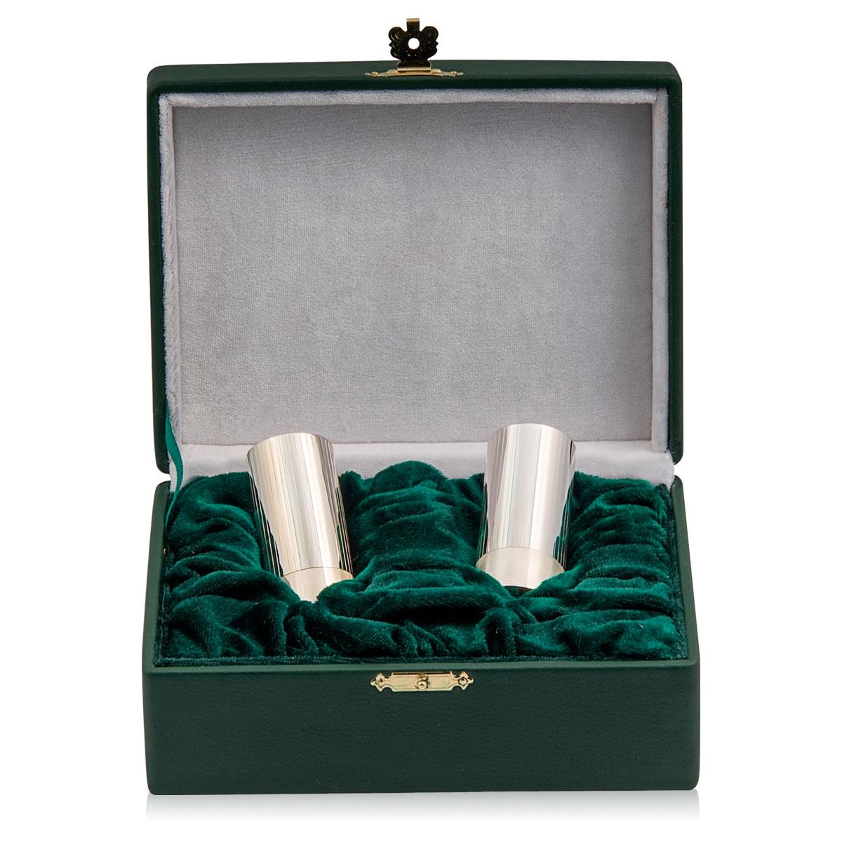 Набір - дві стопки зі срібла «Патрон»