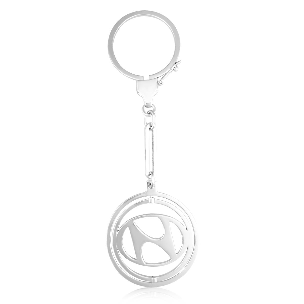 Срібний брелок до машини «Hyundai»
