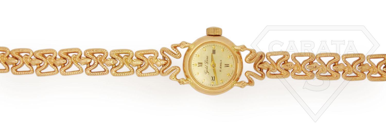 Жіночий годинник «Золота змійка»