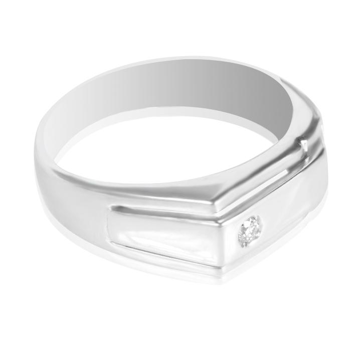 Кольцо с бриллиантом мужское купить