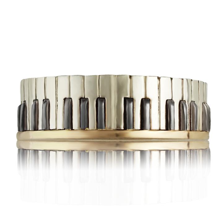 Золота каблучка для музиканта «Звуки музики»