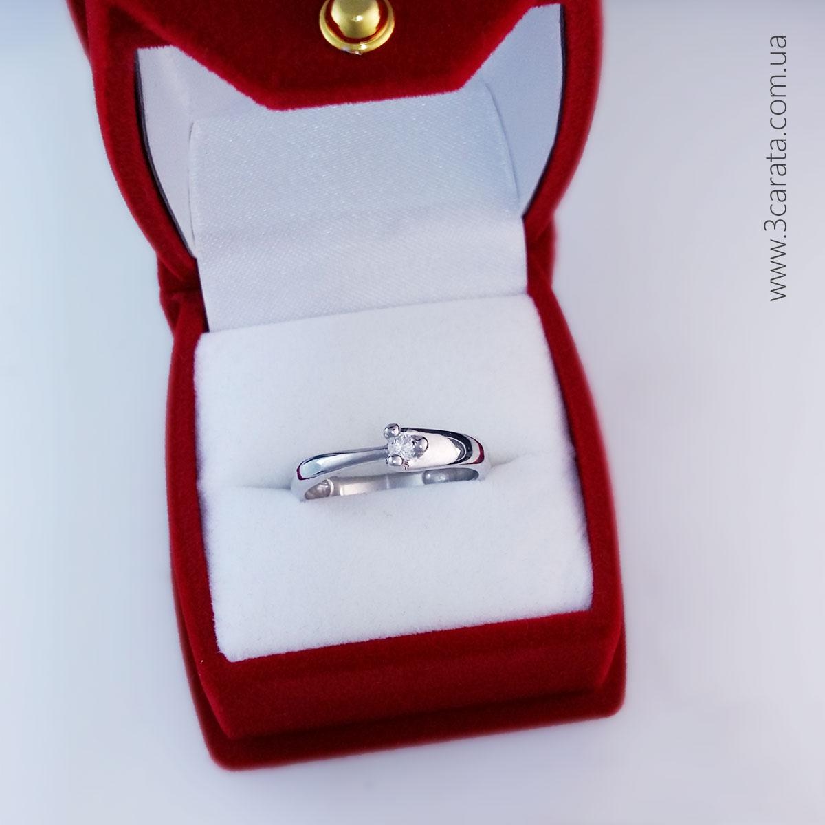 Кольцо для предложения «Lianna» с бриллиантом 0,06 Ct