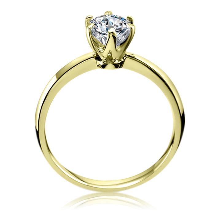 Помолвочное кольцо с бриллиантом 0,3 Ct «Forever»