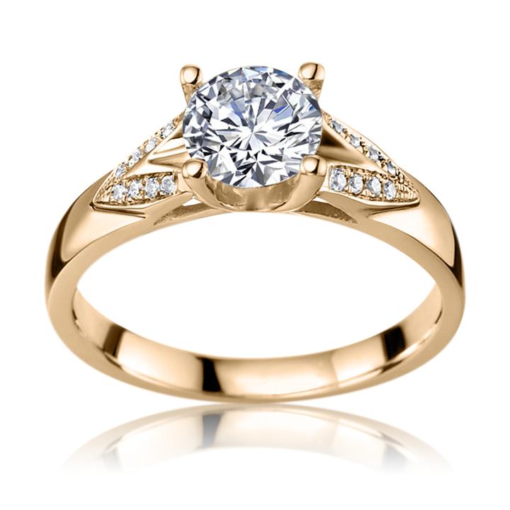 Сколько стоит кольцо с бриллиантами