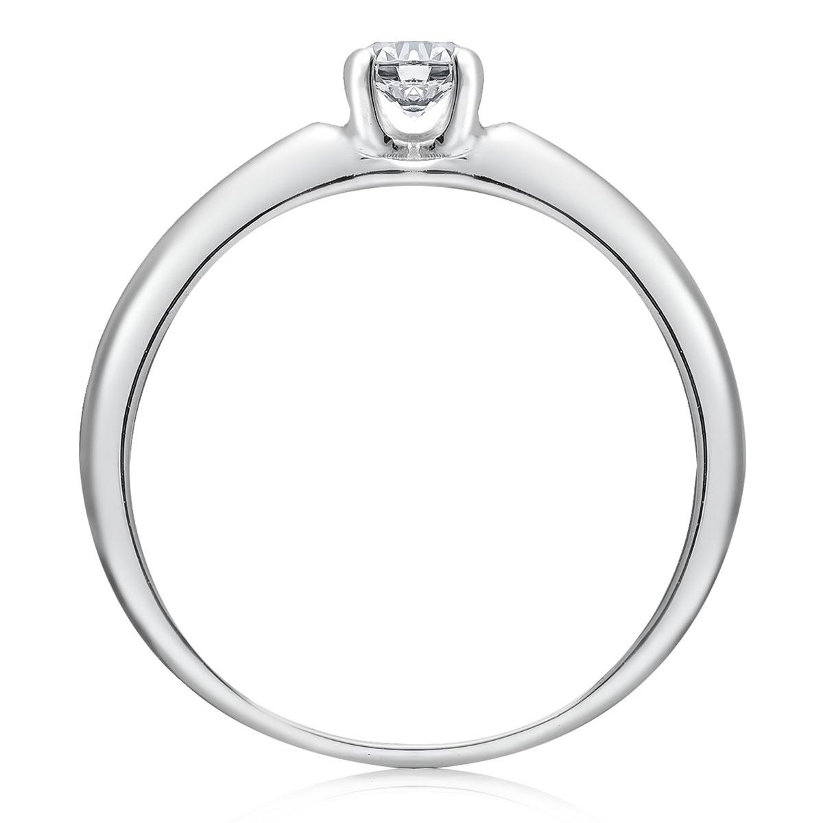 Золотое кольцо солитер для помолвки «Мелани»