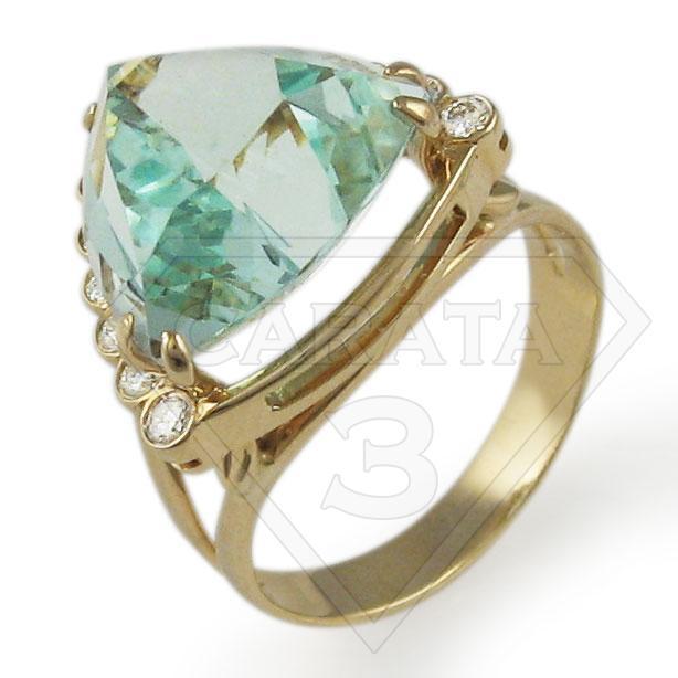Золотое кольцо «Мадам»