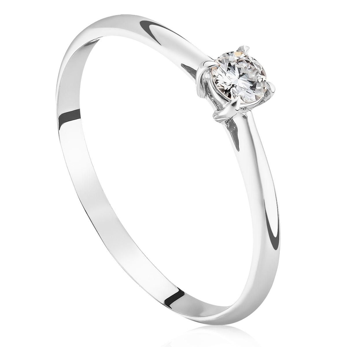 Заручальна каблучка з діамантом «Classic»