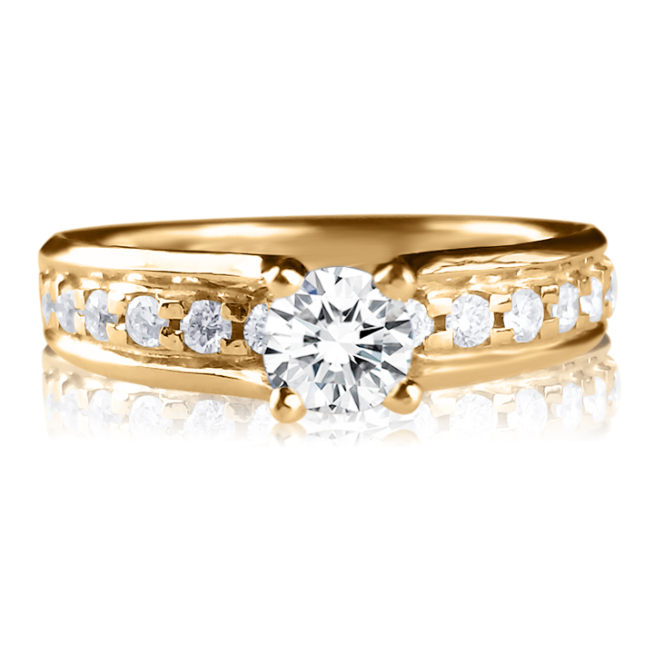 Кольцо с бриллиантами цена