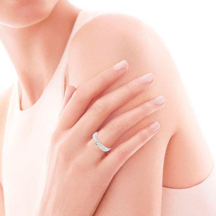 Небольшое кольцо  на помолвку «Избранница»