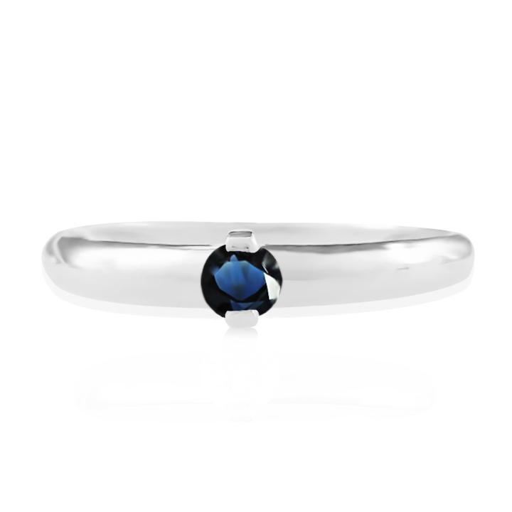 Золотое кольцо на помолвку сапфир фото