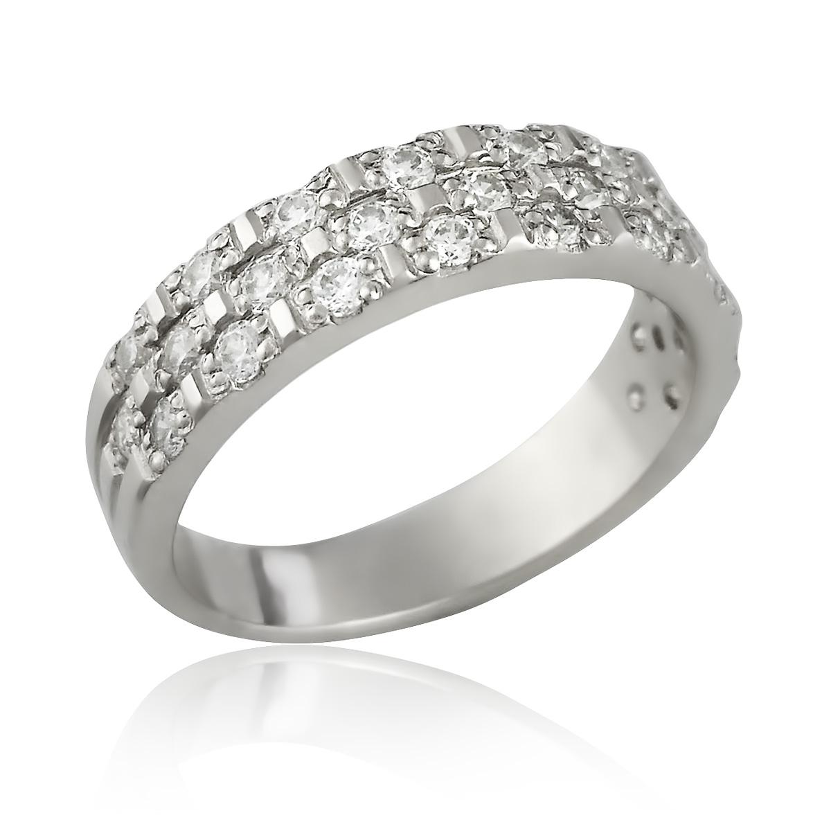 Кольцо со Сваровски цена