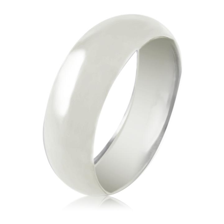 Золотое обручальное кольцо без вставок  «Only You II»