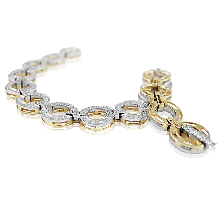 Золотий браслет «Одетта»