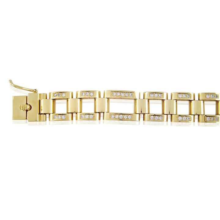 Золотий браслет «Денді»