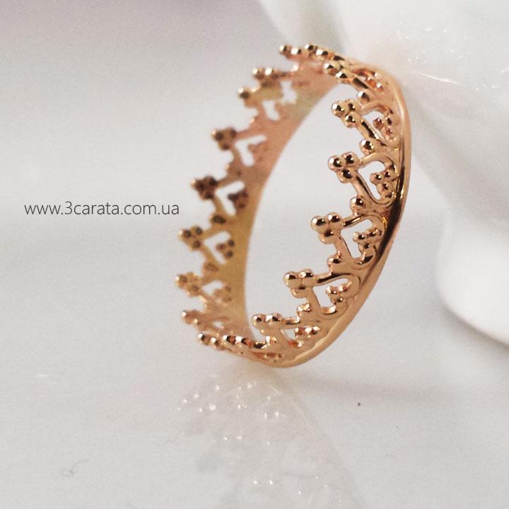 Золотое кольцо-корона «Прекрасная София»