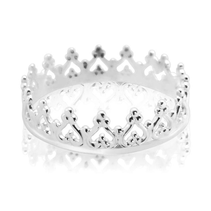 Золота каблучка-корона «Прекрасна Софія»