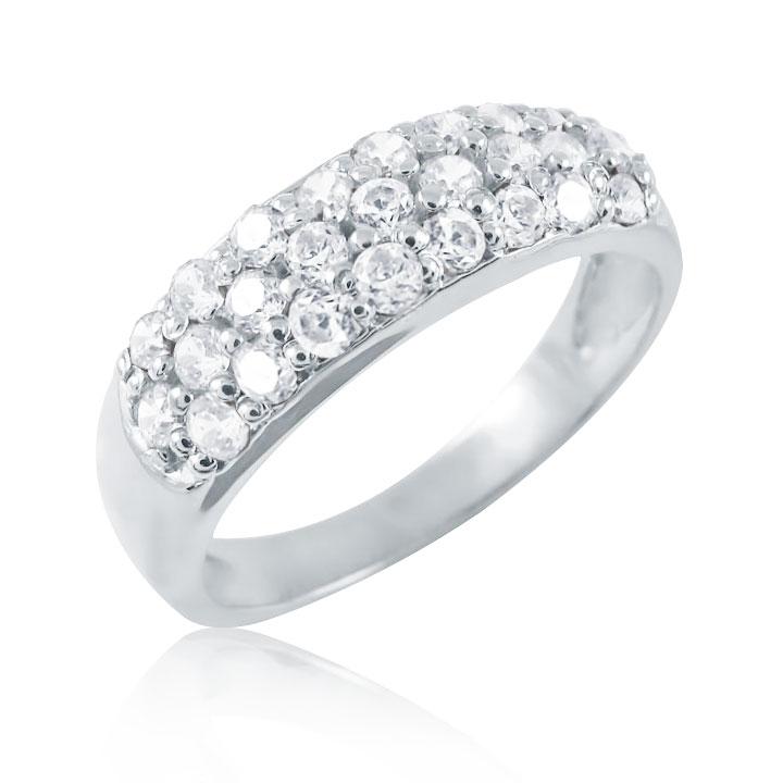 Золотое кольцо с цирконием «Экзотика»
