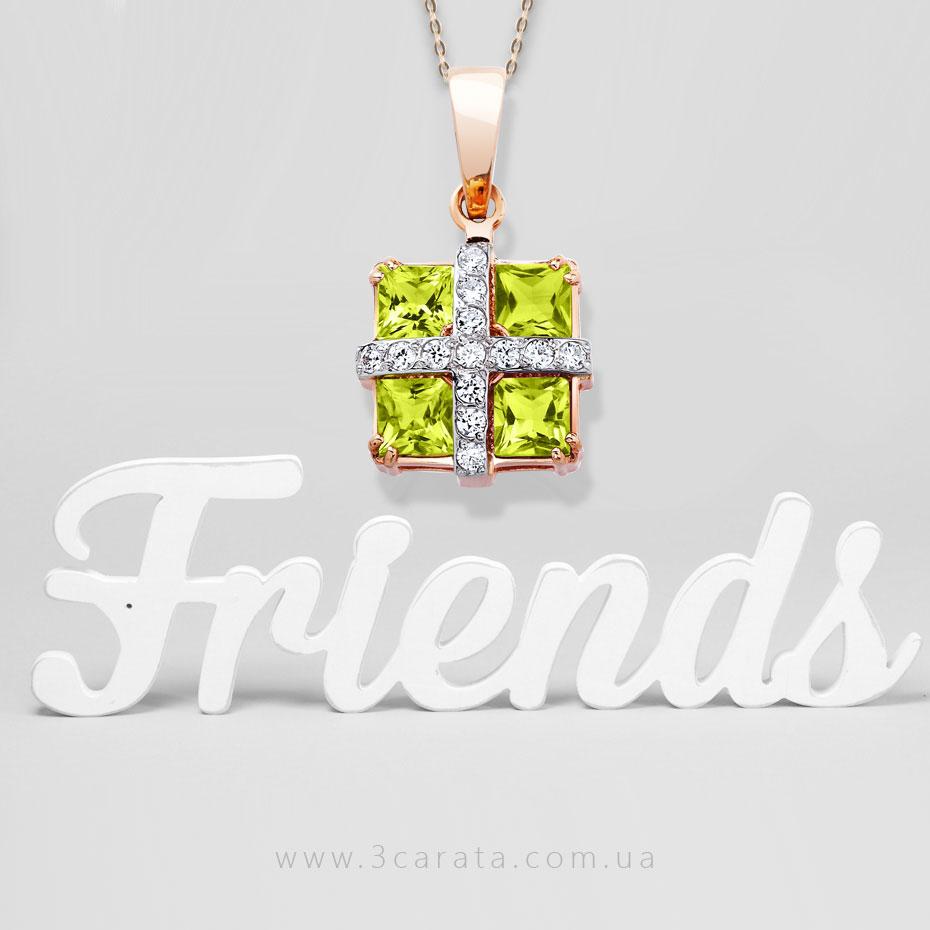 Хризоліт – золотий камінь дружби з блиском зеленої оливи