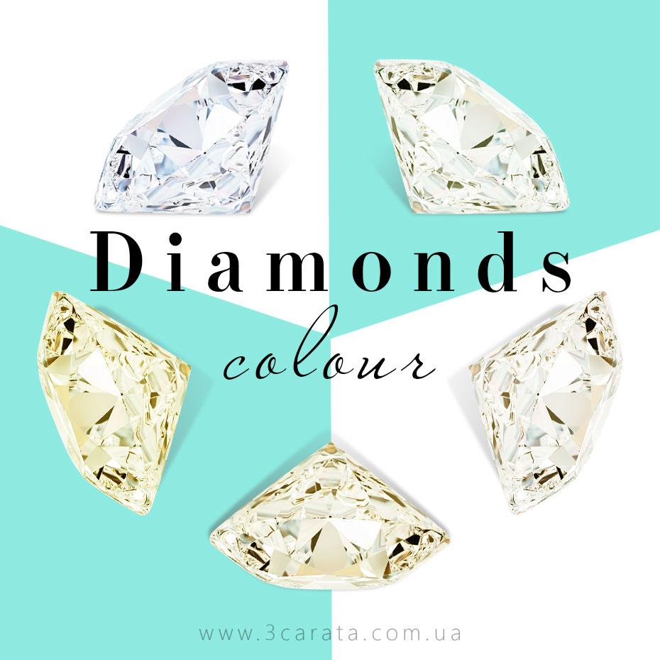 Цвет бриллиантов и сертификаты качества