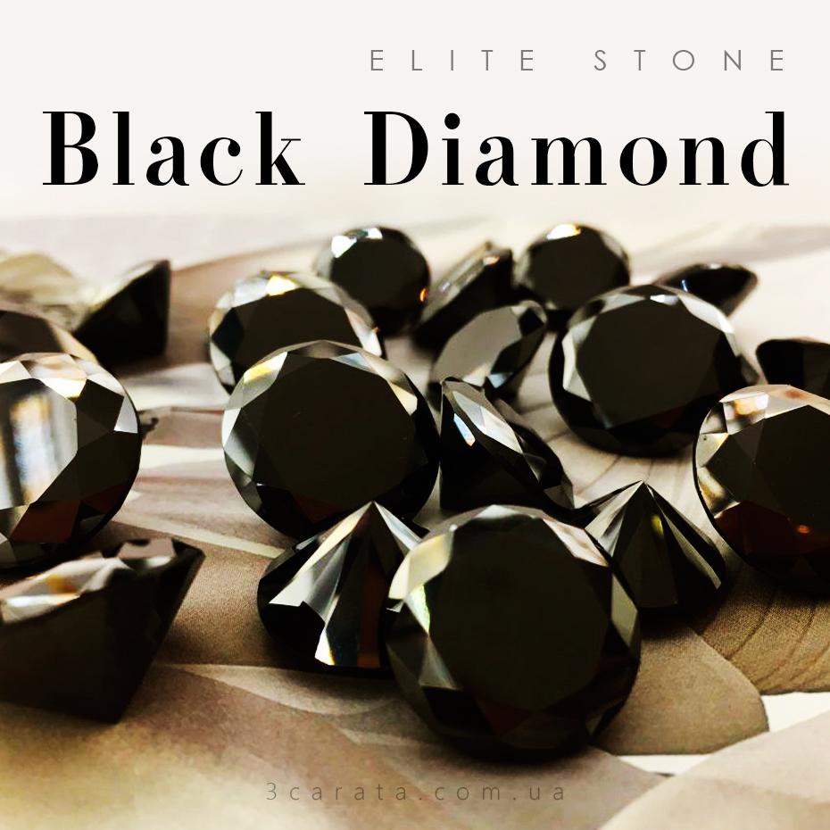 Черный бриллиант – камень высшего общества