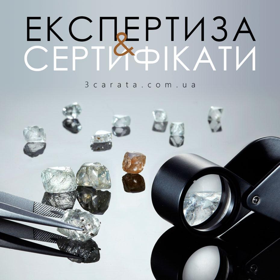 Сертифікати на ювелірні вироби і камені