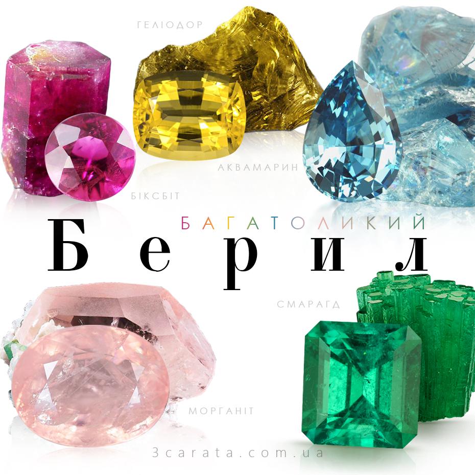 Берил – камінь філософів та життєрадісних людей